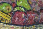 """Oil on Masonite, 4"""" x 6"""", Private Collection"""